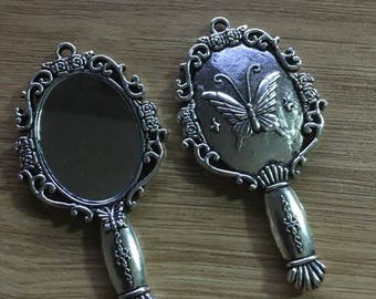 great Retro Vintage mirror pendant
