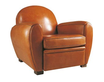 leather, Sheepskin, sheep, cognac, m2 for club Chair or other