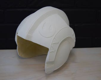 Helmet of Luke Skywalker in the first trilogy of the movie Star wars