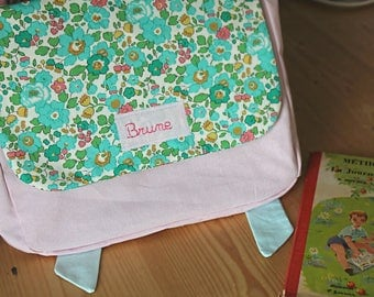 My first schoolbag nursery personalized name
