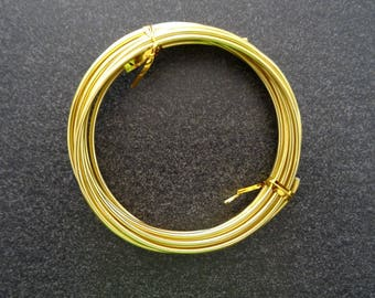 For all your decorations, creations, jewelry gold tone wire