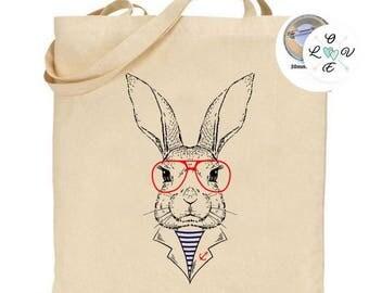 Tote bag rabbit