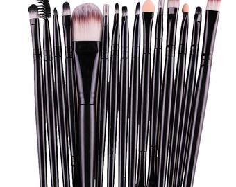 15 pcs 1 Sets Eye Shadow Foundation Eyebrow Lip Brush Makeup Brushes Tool #AP5