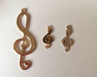 music clef key
