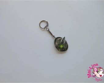 GREEN CAP - GREEN COLLECTION 13 07 KEYCHAIN