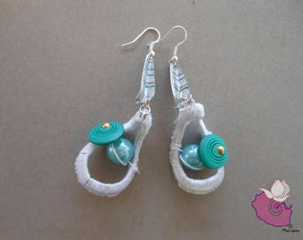 21 CAPSULES - GRAY COLLECTION 8 GREY EARRINGS