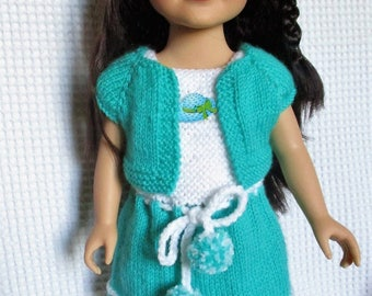 Dress and bolero for Journey Girls doll 46 cm doll.