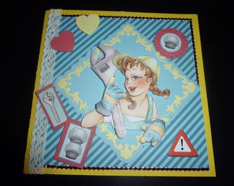 """crafty"" series card no. 2"