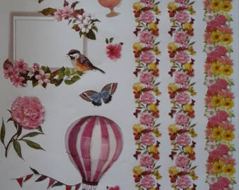 Stickers stickers flowers