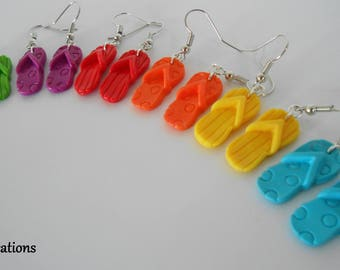 Tap dance earrings