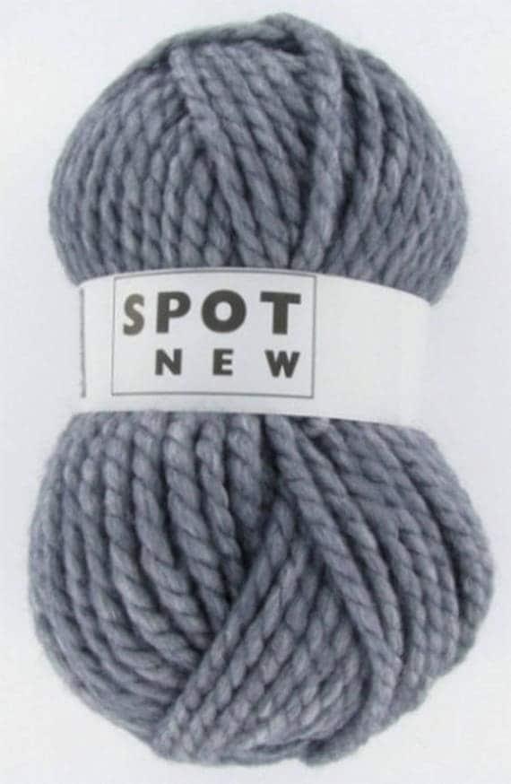 grosse laine tricoter n30 anthracite new spot de cheval. Black Bedroom Furniture Sets. Home Design Ideas