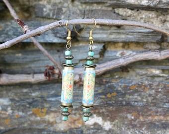 Pair of Moroccan earrings