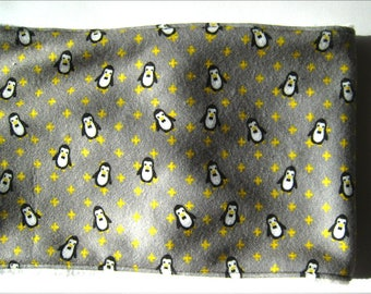 Snood gray penguins 18-24 months