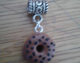 Aries chocolate donut pendant