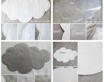 Mats, bedside form white or grey