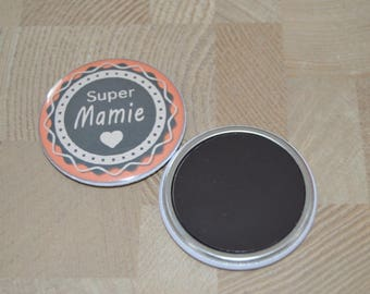 Magnet / magnet Special mother grandmother / Grandma in size 50 mm