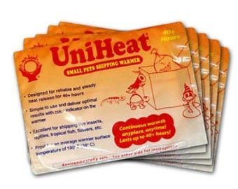 Uniheat Shipping Heat Pack 40 Hours - Add On ONLY