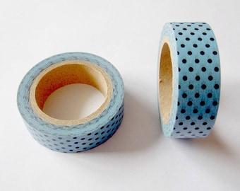 "Duct tape ""Mint dots"""