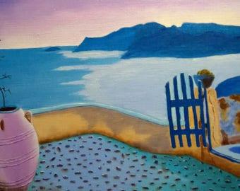 oil on linen canvas