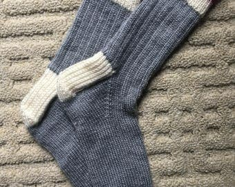 Newfoundland Hand Knit Socks
