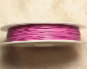 Spool 70 m - wire Metal Wire 0.38 mm neon pink - 4558550027849