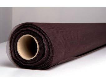 100 meter Brown tulle width 150 cm