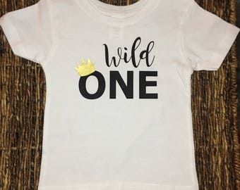 Birthday T-shirt. Where the Wild Thing Are. Personalized shirt.