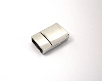 Clasp magnetic silver color for bead 14 mm / 5 mm