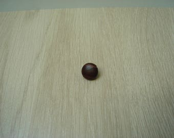 brass tail leather button