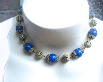 Antique Czech Necklace Art Deco