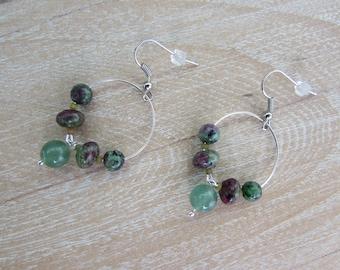 """Earrings """"Mint cordial"""""""