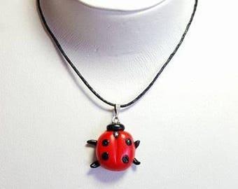 Necklace Ladybug