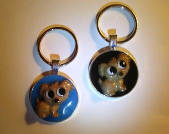Cute Puppy Key Chain / Pendant