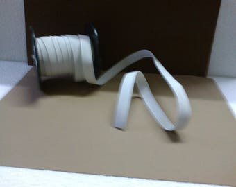 """Soft"" white elastic Ribbon off large 1.5 cm"