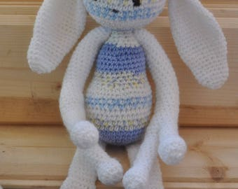 Amadeus monstrus gentillus: sweet Monster blanket for baby from birth, birth, oeko-TeX certified wool gift.