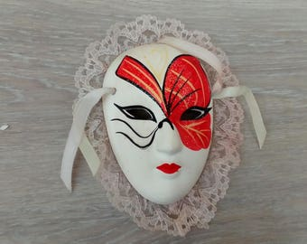 Carnival mask hanging decoration