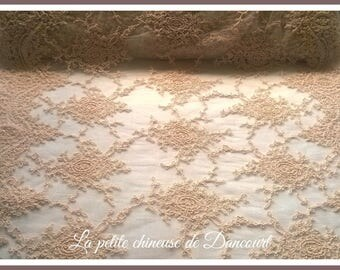 Large pink blush lace Valentina