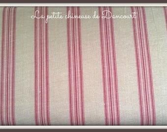 From Mas D'ousvan Dano red chambray fabrics