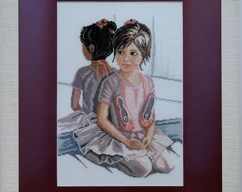 Embroidery picture Ballet girl