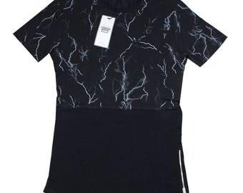 "on sale-40% just 3.99 pounds Brand new black men's t-shirt ""lenasso"" size-S"