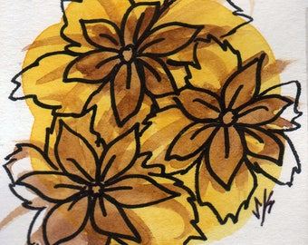 Watercolor Flower #1