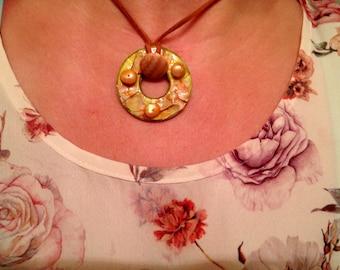 Unique Handcrafted Pendant Necklace