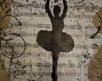 Music Sheet Ballerina