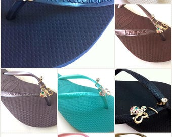 Havaianas Slim Crystal Glamour butterfly Womens Flip Flops all colors & Sizes