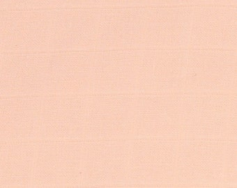 DOUBLE cotton GAUZE - coral peach fabric