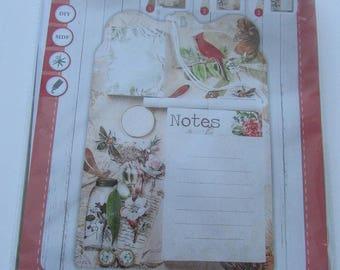 Blank memo Board Kit
