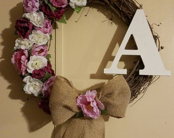 Beautiful Monogram Wreaths