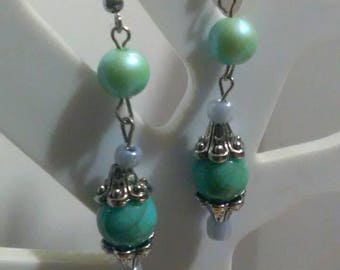 Classic turquoise earings