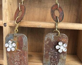 Rusty Earrings