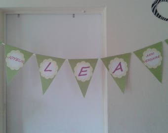 Personalized banners for birthday, baptism...